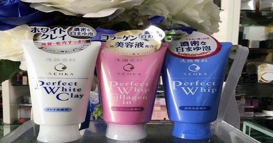 Giới thiệu 3 sản phẩm sữa rửa mặt senka nên dùng hiện nay