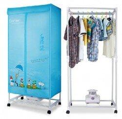 Giữ quần áo luôn khô ráo với tủ sấy quần áo có điều khiển từ xa Tiross TS-882
