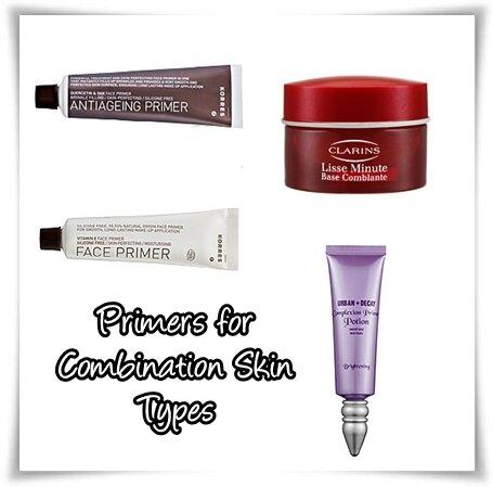 Giúp bạn lựa chọn những loại primer/ kem lót phù hợp cho từng loại da