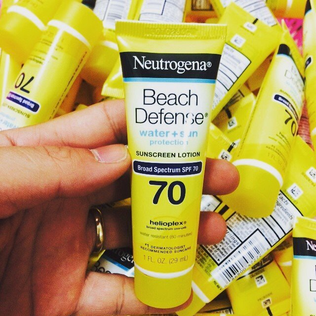 Kem chống nắng nhỏ Neutrogena Beach Defense spf 70