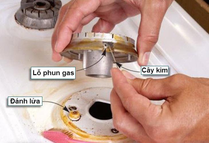 cách khắc phục bếp gas không lên lửa