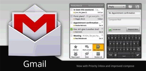 Gmail trở thành ứng dụng Android đầu tiên cán mốc 1 tỉ lượt cài đặt
