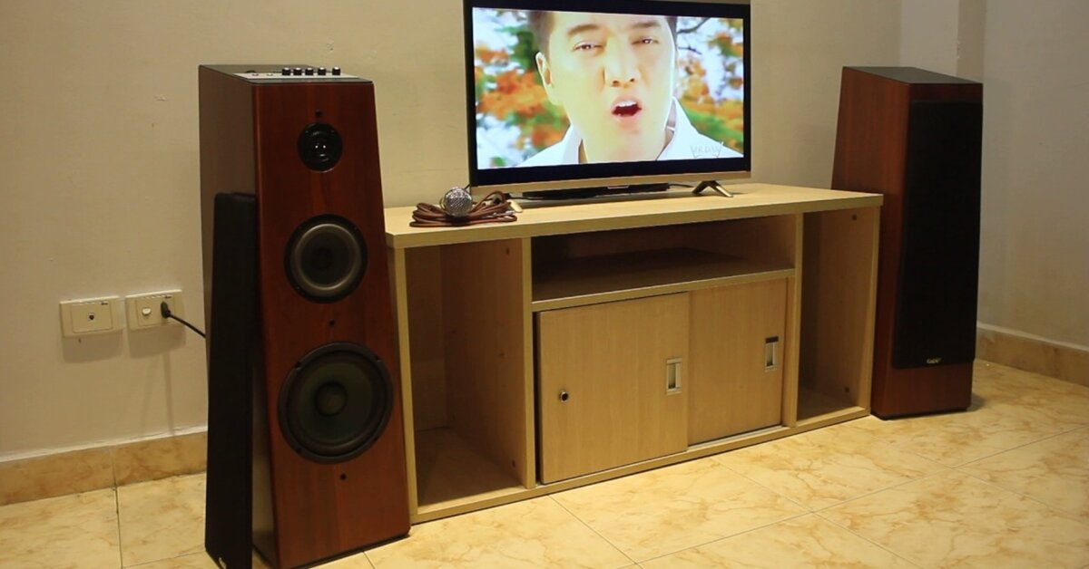 Goldsound W360: Loa nghe nhạc, hát karaoke chuyên dụng cho gia đình