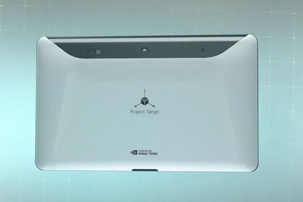 Google hợp tác với LG để cho ra mắt máy tính bảng có khả năng vẽ 3D môi trường xung quanh