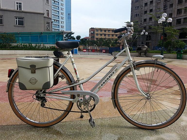 xe đạp peugeot cổ