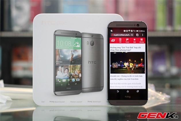 Mở hộp HTC One M8 mới xuất hiện tại Việt Nam | websosanh vn