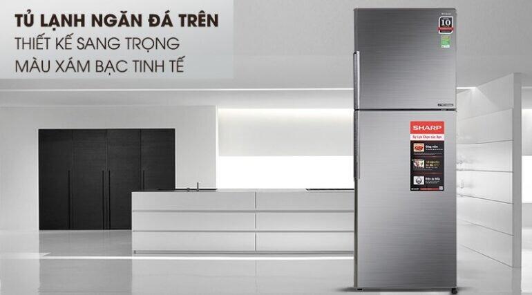 Tủ lạnh Sharp Inverter 287 lít SJ-X316E-DS - Giá tham khảo khoảng 7,7 triệu vnđ