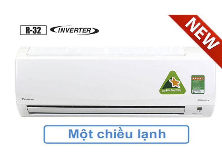 Điều hoàDaikin inverter FTKC25TAVMV mạnh mẽ trong thiết kế, khả năng vận hành cao, thân thiện với môi trường