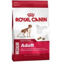 Thức ăn cho chó Royal Canin Medium Adult - 16kg, dành cho chó từ 11-25kg và trên 12 tháng tuổi