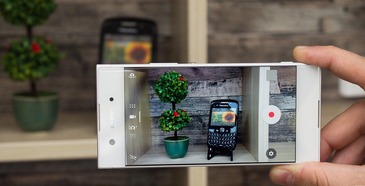 """Với camera có số """"chấm"""" cực đại, Sony Xperia XA1 cho hình ảnh chất lượng rõ nét hơn"""