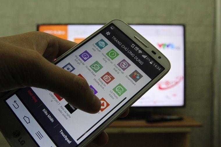 Cách dùng điện thoại, máy tính bảng điều khiển Smart tivi LG WebOS bằng ứng dụng LG TV Plus
