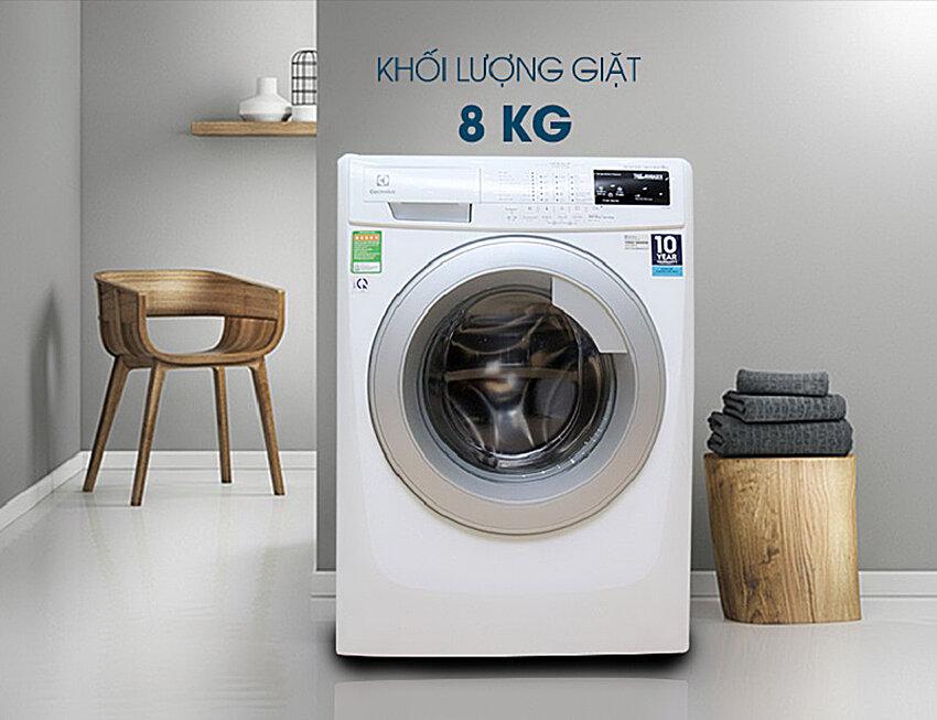 Các sản phẩm máy giặt của Electrolux sở hữu thiết kế đẹp, bắt mắt
