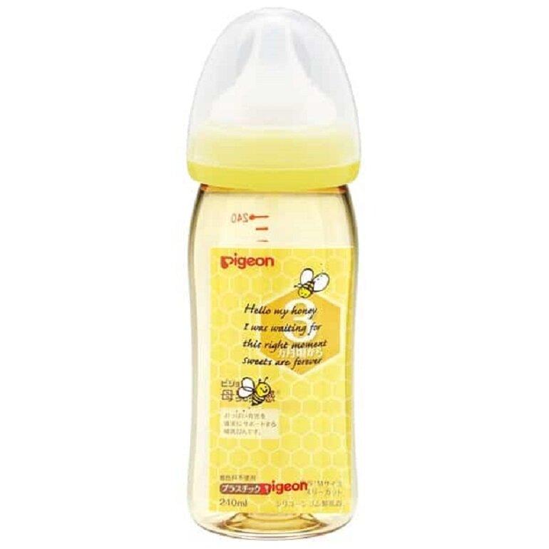 Bình sữa Pigeon 240ml nội địa Nhật cổ rộng