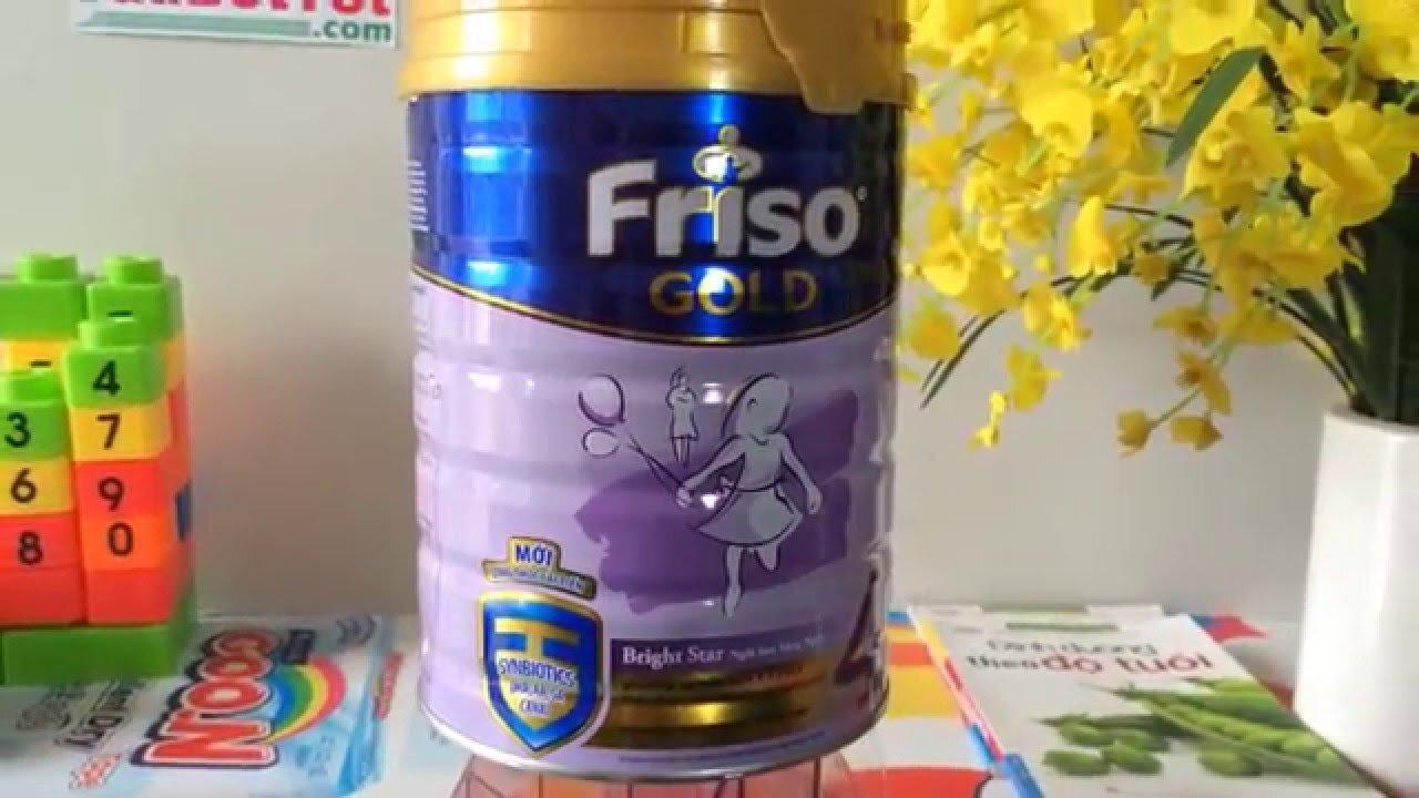 Sữa Friso được nhiều ông bố bà mẹ sử dụng cho con yêu