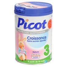 Bảng giá sữa bột Picot cập nhật tháng 1/2018