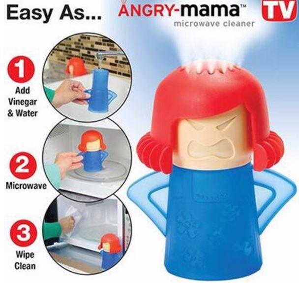 Làm thế nào để sử dụng Angry Mama Microwave Cleaner ?