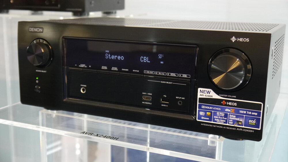 Amply Denon AVR-X2400H BKE2 có chất lượng tuyệt vời (Nguồn: vcdn.tikicdn.com)