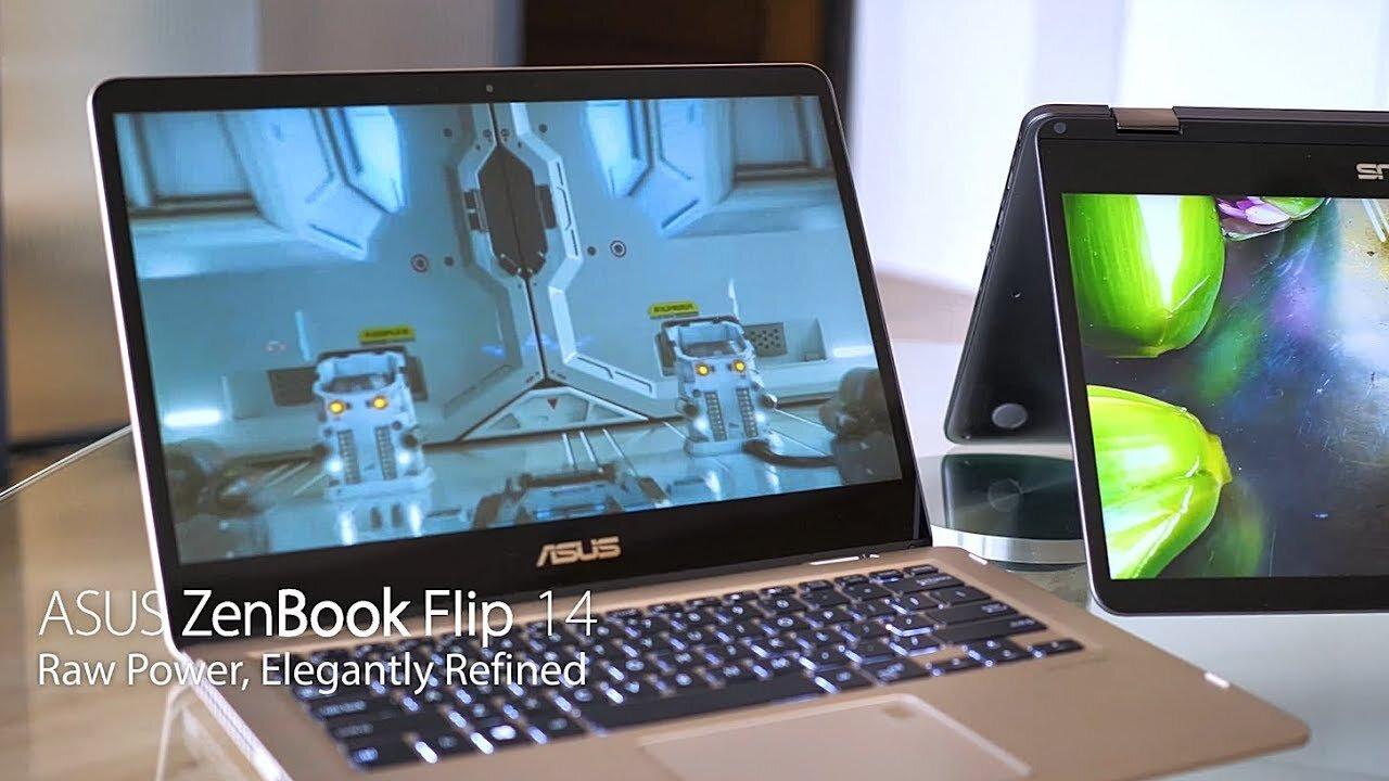Trải nghiệm máy từ mọi góc độ và tư thế với Asus ZenBook Flip 14 UX461UA