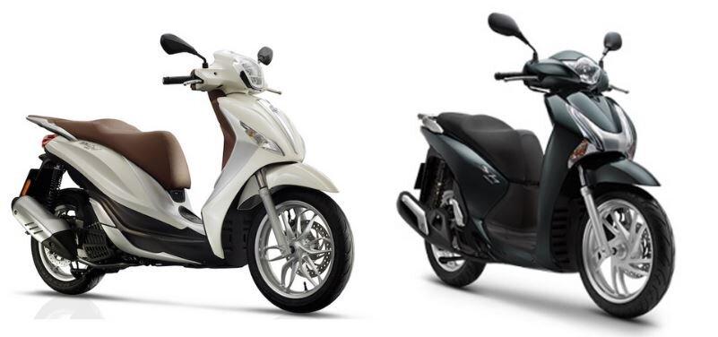 Hàng loạt xe máy Honda tăng giá tính phí trước bạ