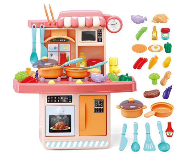 Đồ chơi nấu ăn cho bé đa dạng về màu sắc