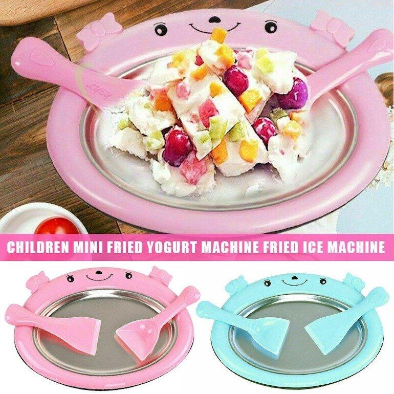 Máy làm kem cuộn mini là gì?