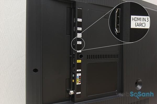 HDMI (ARC) trên các dòng smart tivi hiện nay dùng để làm gì ?