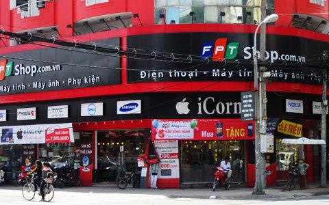 Hệ thống cửa hàng FPT Shop tại thành phố Hồ Chí Minh
