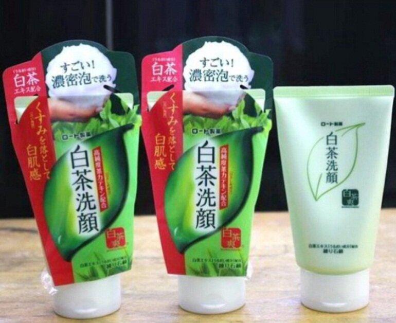 Những loại sữa rửa mặt green tea đang được ưa chuộng nhất hiện nay
