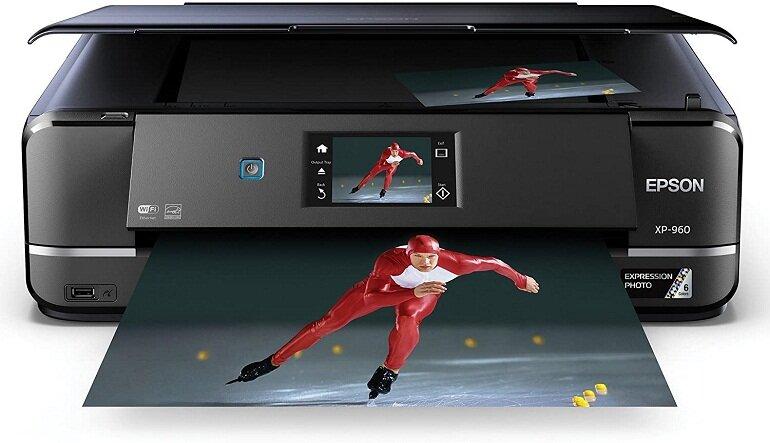 Máy in ảnh Epson Expression Photo XP-960 đa năng