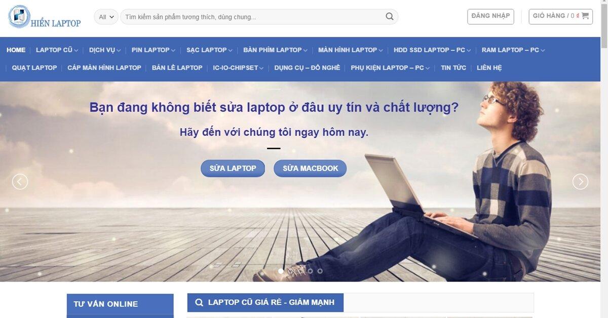 HienLaptop – Địa chỉ sửa chữa laptop tại Tp. Hồ Chí Minh uy tín, chuyên nghiệp