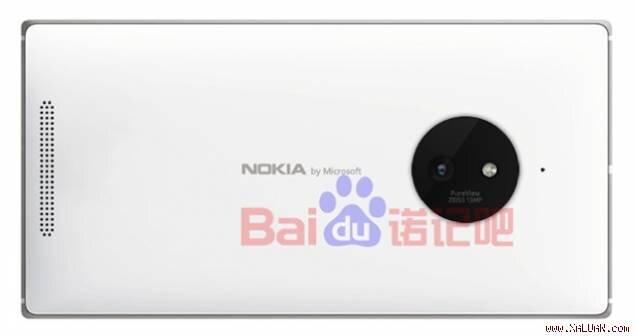 Hình ảnh rõ nét Lumia 830 với cụm camera hầm hố
