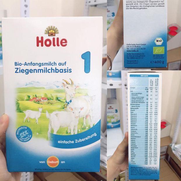 Sữa dê công thức Holle