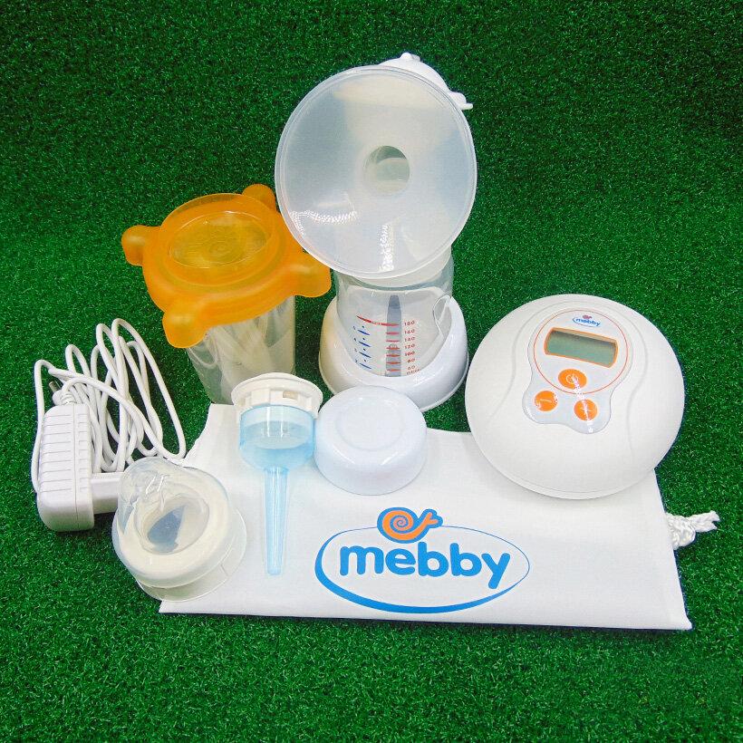 Máy hút sữa điện đơn Mebby Natural Plus