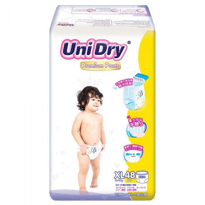 Tã bỉm UniDry có xuất xứ từ Đài Loan
