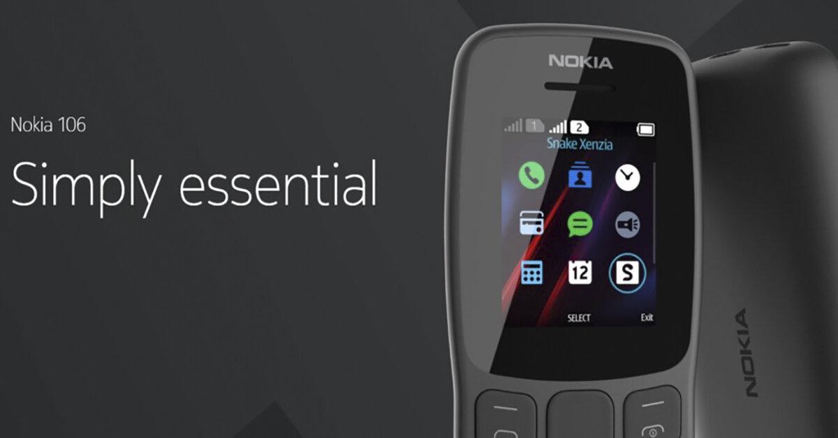 HMD Global ra mắt phiên bản điện thoại Nokia 106 (2018) hỗ trợ 2 SIM, thêm hai màu mới cho Nokia 203