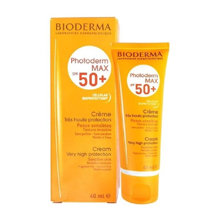 Kem chống nắng Bioderma Photoderm Max Crème SPF 50+