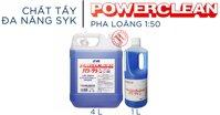 Hóa chất tẩy rửa SYK Power Clean của nước nào? Giá bao nhiêu? Mua ở đâu?