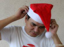 Học cách làm mũ ông già Noel đẹp mà đơn giản