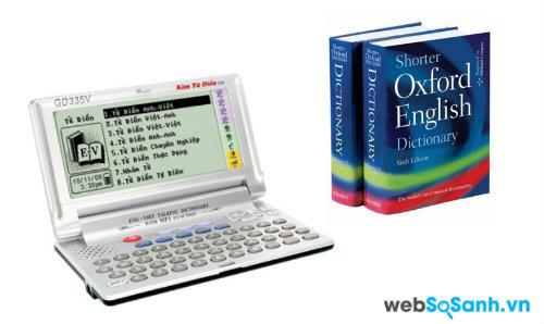 Học ngoại ngữ bằng kim từ điển hay từ điển giấy hiệu quả hơn?