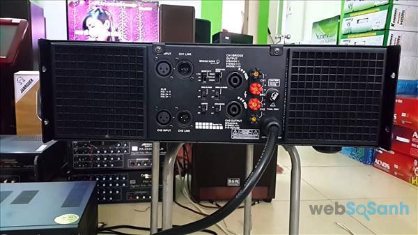 Kết nối cục đẩy công suất với các thiết bị khác