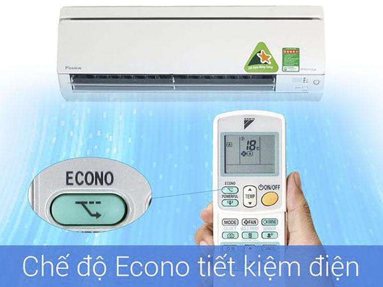 Vượt khó với chế độ tiết kiệm điện Econo trên điều hoà Daikin