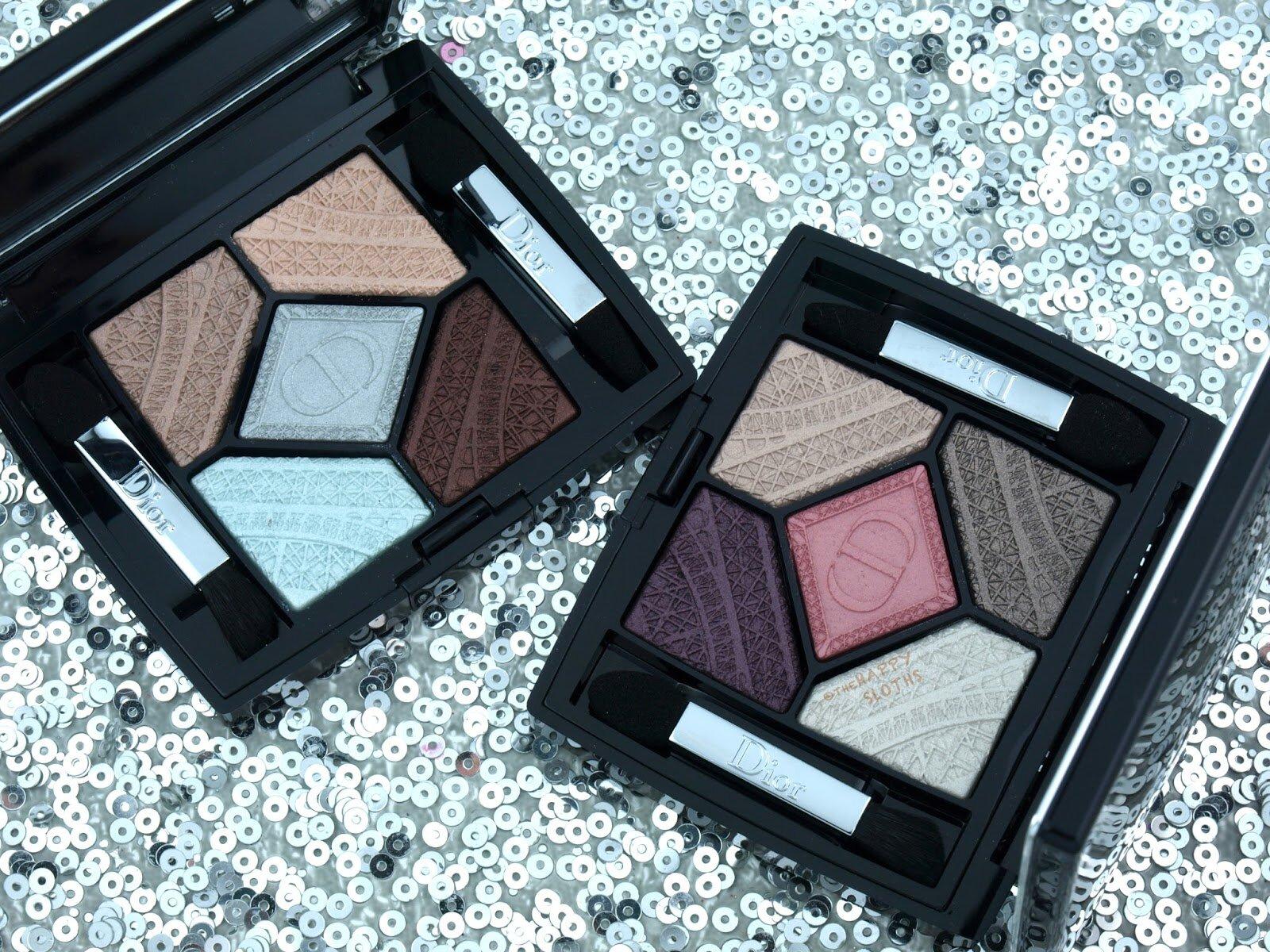 Hộp phấn mắt 5 màu Dior 5 Couleurs Skyline – tuyệt đẹp và cực tinh tế