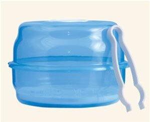 Hộp tiệt trùng bình sữa trong lò vi sóng Canpol Babies 2/847