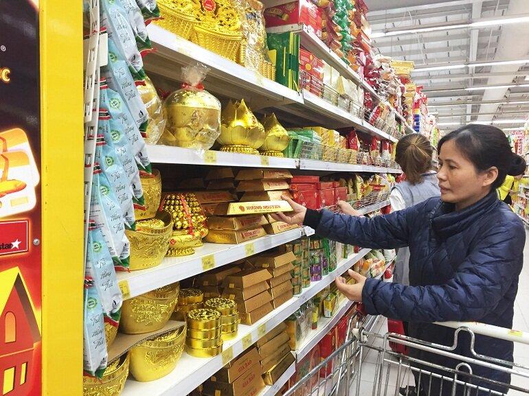Giá bánh kẹo Tết Tân Sửu 2021