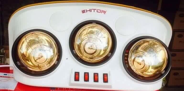 Công năng của đèn sưởi Hitor.