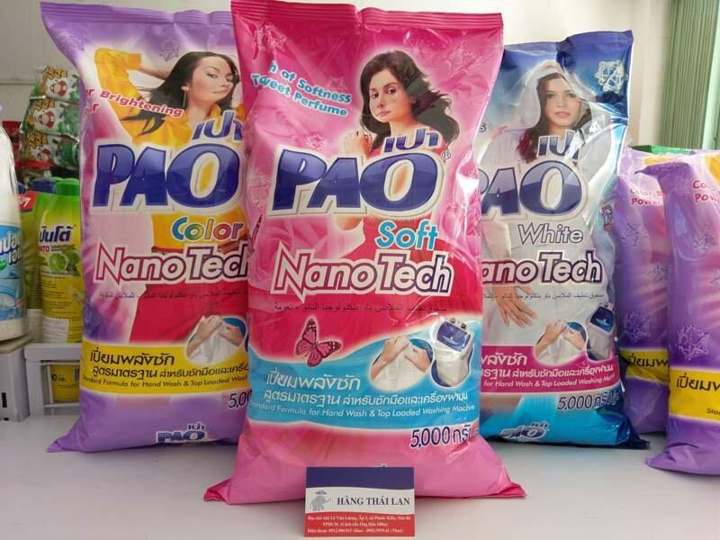 Bột giặt của PAO với giá phù hợp với chi tiêu người dùng Việt Nam