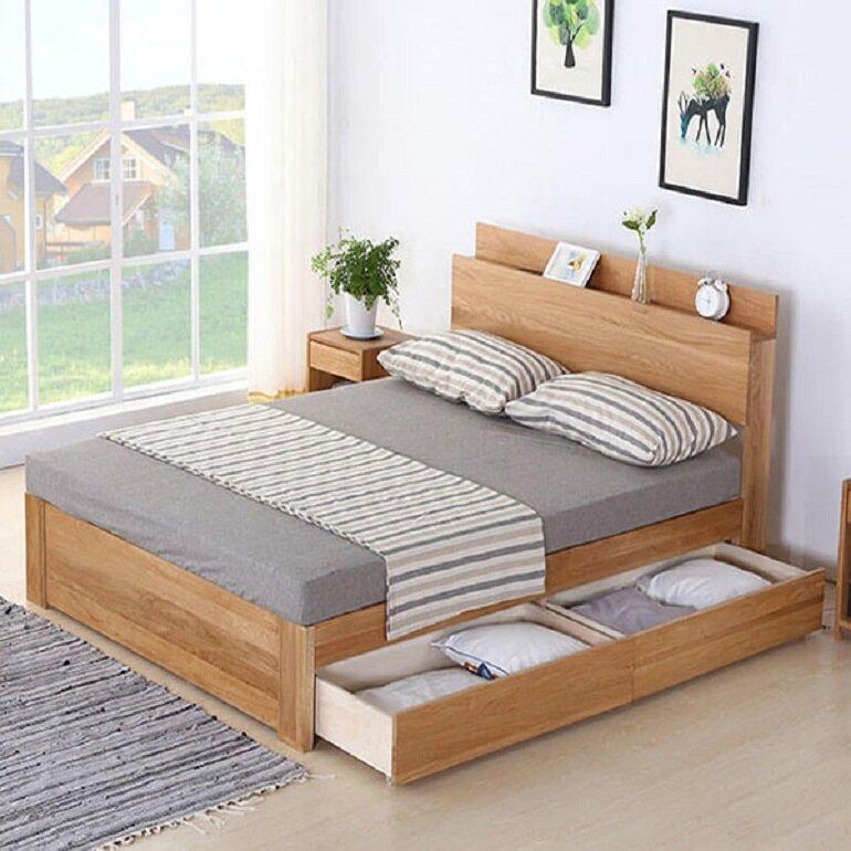 giường ngủ cho nội thất phòng ngủ