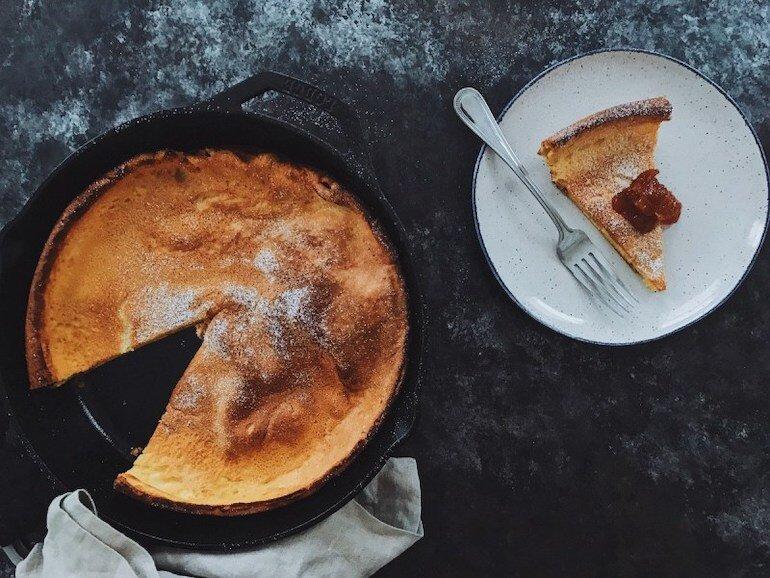 Cách làm bánh ngọt bằng chảo chống dính