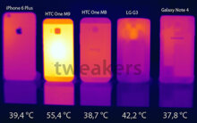 HTC One M9 nóng nhất trong các dòng smartphone cao cấp
