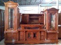 giá tủ kệ tivi gỗ xoan đào